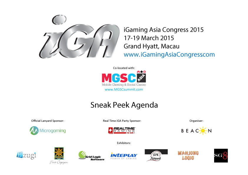 iGaming Asia Congress 2015
