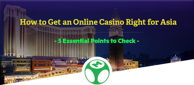 online casino for Asia