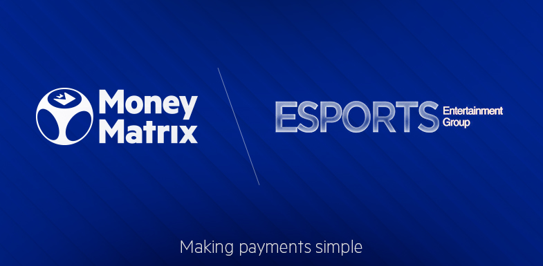 MoneyMatrix signs deal to provide payment portfolio and its hosted cashier to Esports Entertainment Group