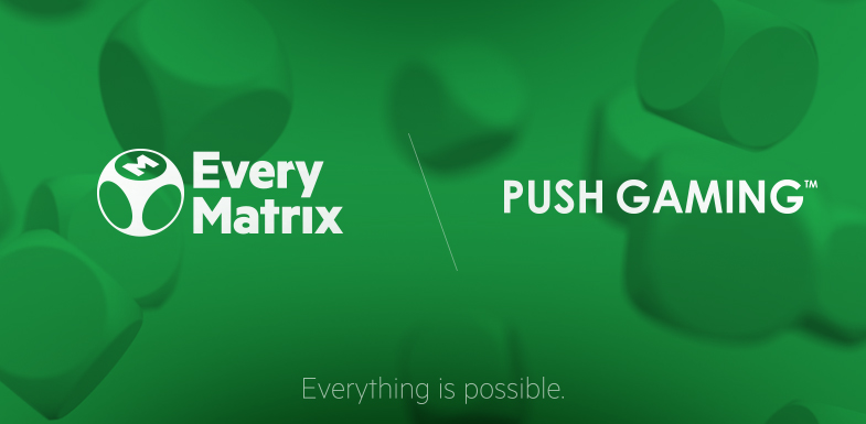 Push Gaming Games available now on EveryMatrix via CasinoEngine Solution