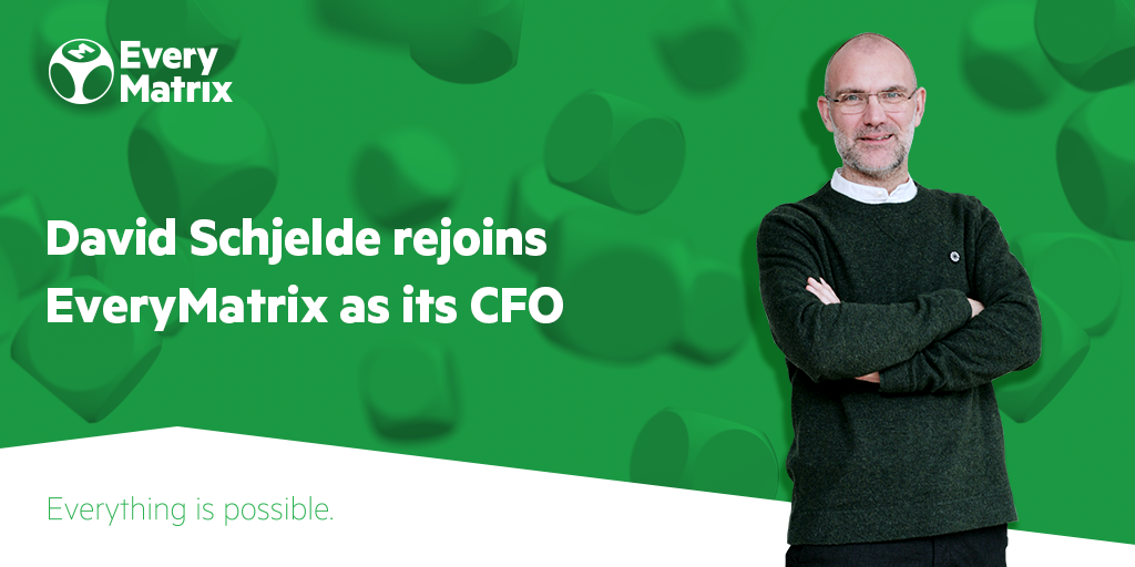 David Schjelde rejoins EveryMatrix as its Chief Financial Officer