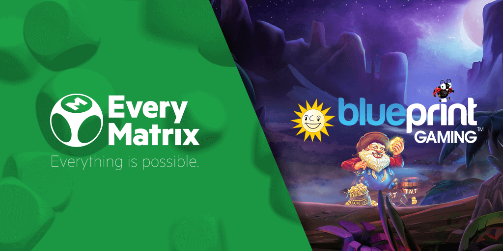 EveryMatrix's CasinoEngine signs Blueprint Gaming