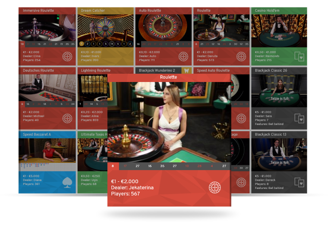 Maximize revenue in real-time with Live Casino Lobby API